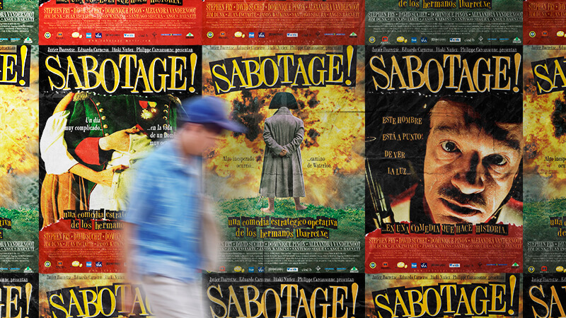 Película Sabotage